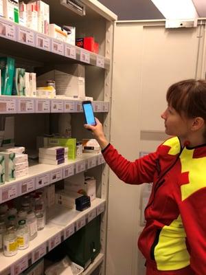 MedKit Online varastokäytössä Jokilaaksojen Pelastuslaitoksen lääkevarastossa